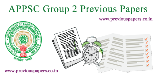 APPSC Group 2 Question papers