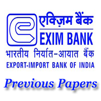 EXIM Bank Manager Previous Papers