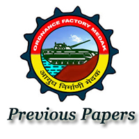 Ordnance Factory Medak Previous Papers