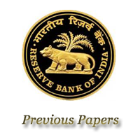 RBI Manager Previous Papers