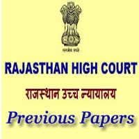 Rajasthan High Court Steno Previous Papers