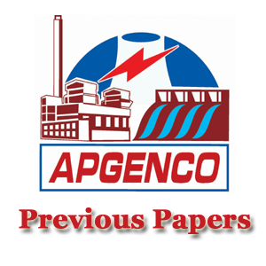 APGENCO AE Previous Papers