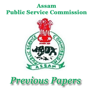 Assam PSC AE Previous Papers