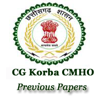 CMHO Korba MO Previous Papers