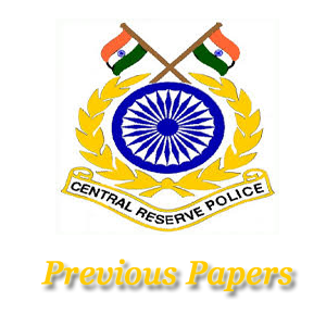 CRPF ASI Steno Previous Papers