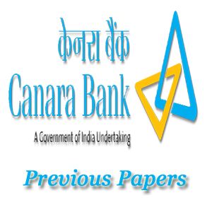 Canara Bank SO Previous Papers