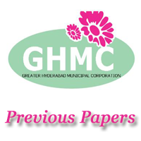 GHMC Previous Question Papers