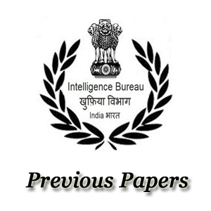 IB Jr Intelligence Officer Previous Papers
