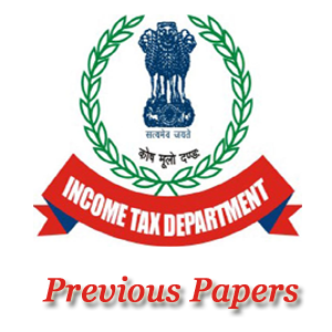 Income Tax Dept MTS Previous Papers
