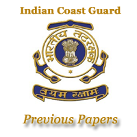 Indian Coast Guard Previous Papers
