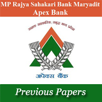 MP Cooperative Bank Previous Papers