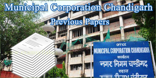 Municipal Corporation Chandigarh Previous Papers copy
