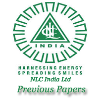 NLC India Apprentice Previous Papers
