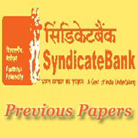 Syndicate Bank Sweeper Previous Papers