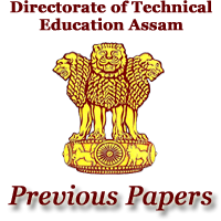 DTE Assam Previous Papers