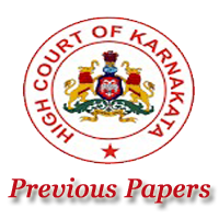 KHC Asst Court Secretary Previous Papers