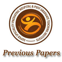 SSPHPGTI Noida Staff Nurse Exam Papers