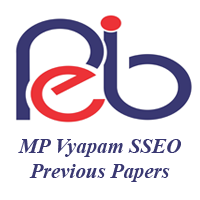 MP Vyapam SSEO Previous Papers