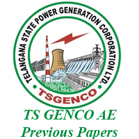 TSGENCO AE Previous Papers