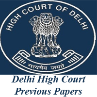Delhi High Court Previous Papers
