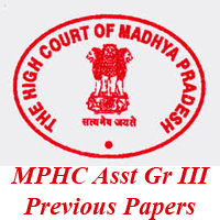 MPHC Assistant Grade III Previous Papers