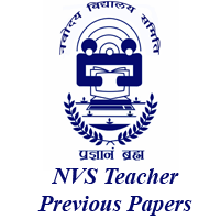 NVS Teacher Previous Papers