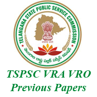 TSPSC VRO VRA Previous Papers