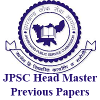 JPSC Head Master Previous Papers