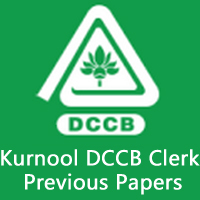 Kurnool DCCB Clerk Previous Papers