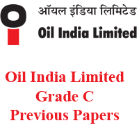 Oil India Limited Grade C Previous Papers
