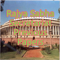 Rajya Sabha Secretariat Previous Papers