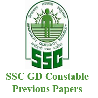 Download SSC GD Constable Previous Papers Pdf - SSC GD Old