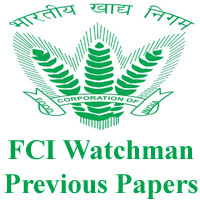 fci watchman previous papers