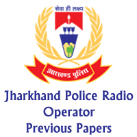 Jharkhand Police Radio Operator Previous Papers