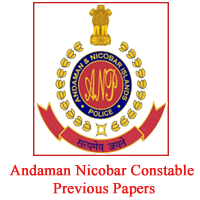 Andaman Nicobar Constable Previous papers