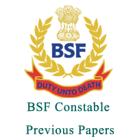 BSF Constable Previous papers