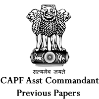 CAPF Asst Commandant previous papers