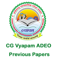 CG Vyapam ADEO Previous Papers copy