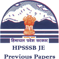 HPSSSB JE Previous Papers