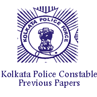 Kolkata Police Constable Previous Papers