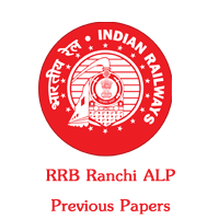 RRB Ranchi ALP previous papers
