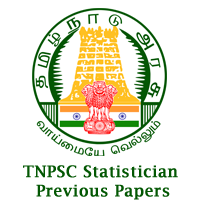 TNPSC Statistician Previous papers copy