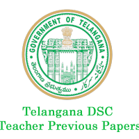 Telangana DSC Teacher previous papers