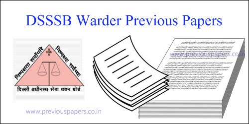 Delhi SSSB Dass Grade II Solved Question Papers