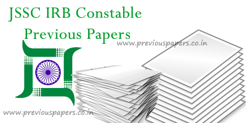 Jharkhand IRB Constable Previous papers