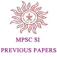 MPSC SI Previous Papers