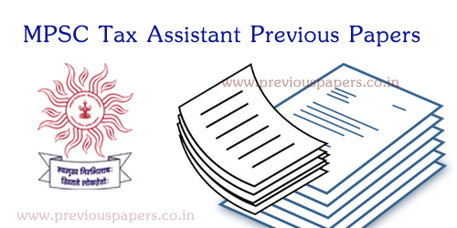 Maha PSC Group A Solved Question papers