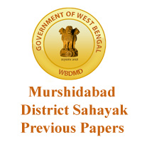 Murshidabad District Sahayak Previous Papers
