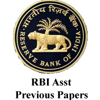 RBI Asst Previous Papers
