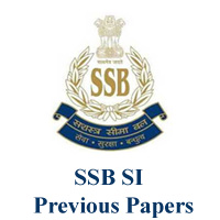 SSB SI Previous Papers